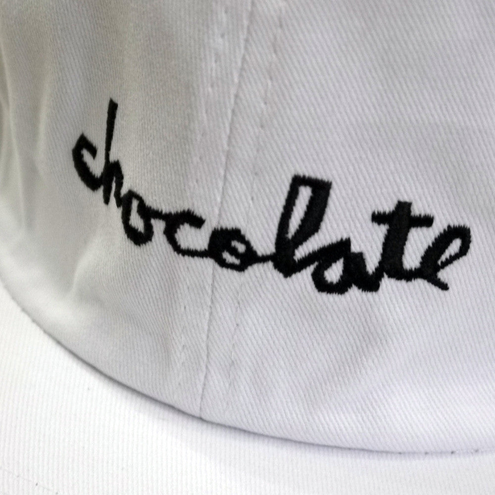 Chocolate Skateboards Unstructured Chunk Strapback cap white