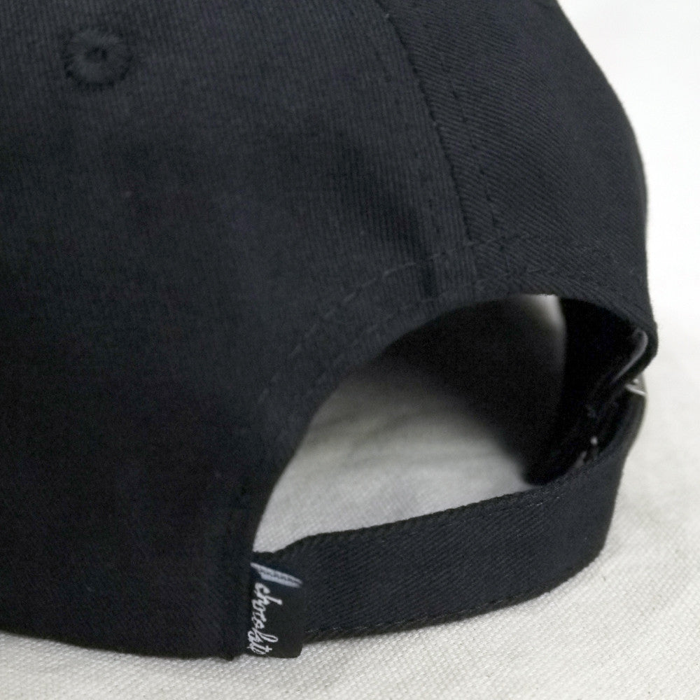 Chocolate Skateboards Unstructured Chunk Strapback Cap Black