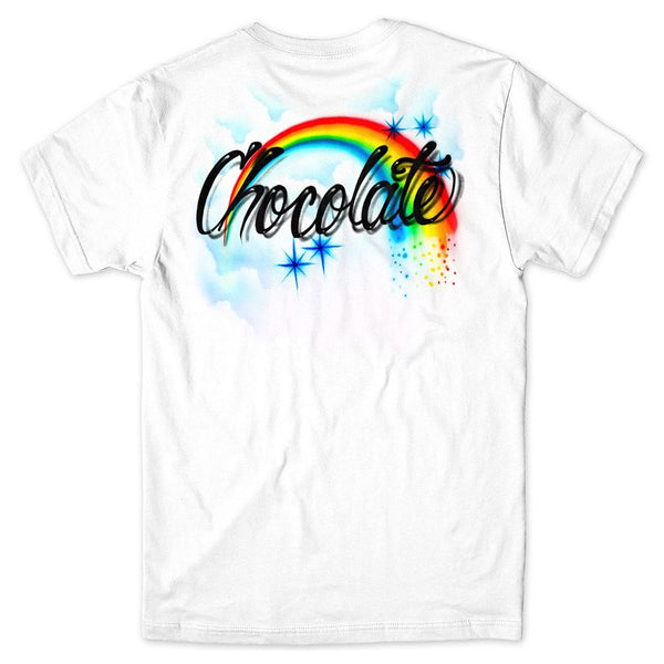 Chocolate Skateboards Skiduls Rainbow T Shirt
