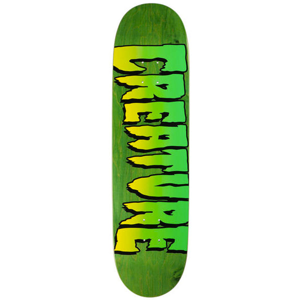 "Creature Skateboards Logo Stumps deck. 8.5"" wide"