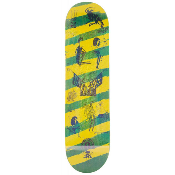 Creature Skateboards Snake Barf deck.