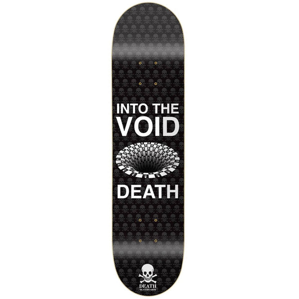 "Death Skateboards Into The Void Deck 9"" Wide"