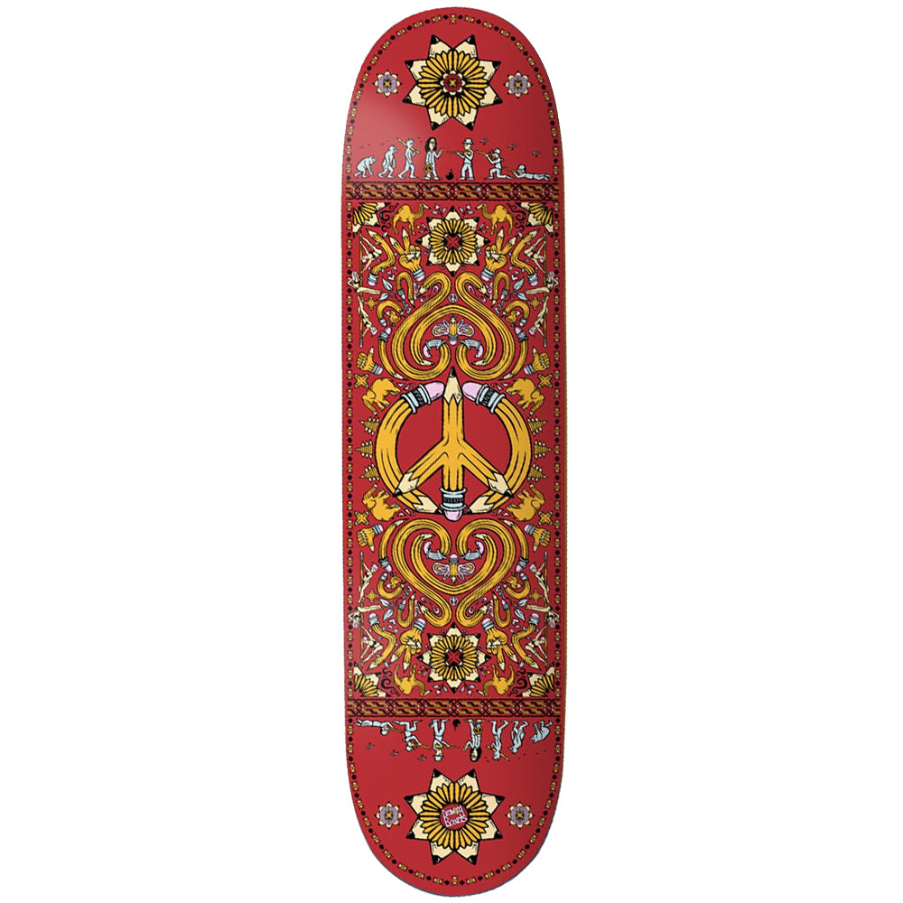 "Drawing Boards Peace Deck 8.1"" wide."