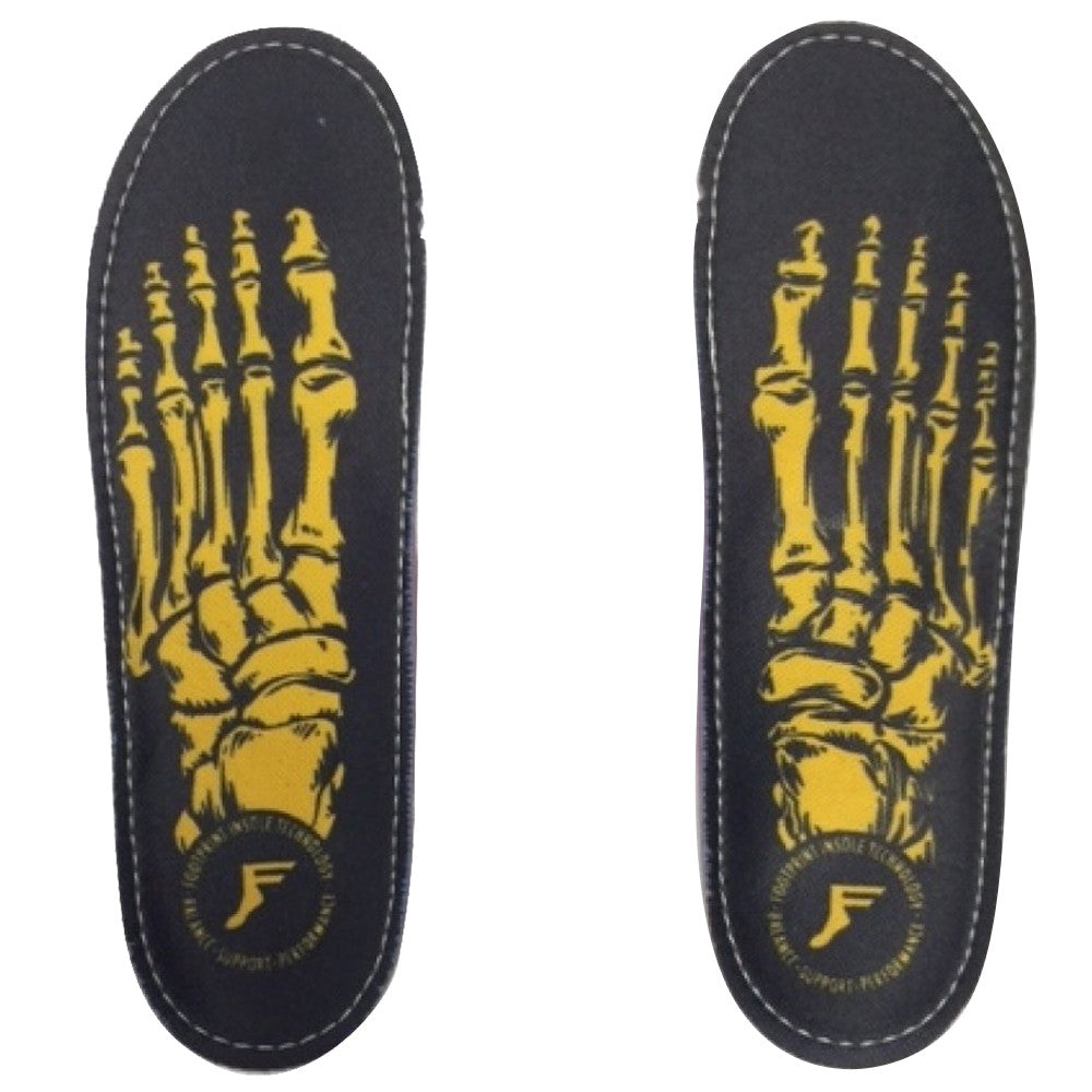 Footprint Insoles Game Changer Skeleton Gold
