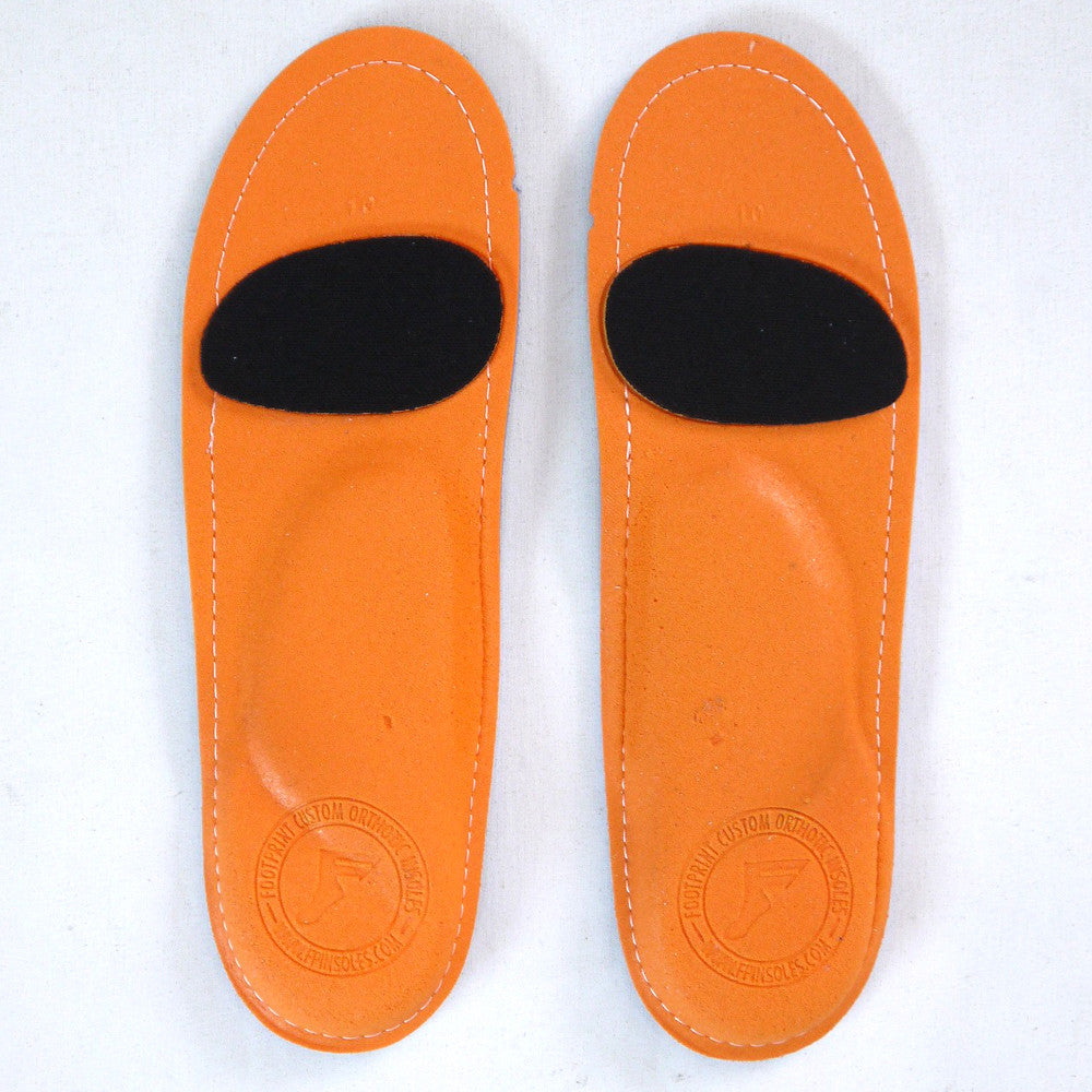 Footprint Insoles Skeleton White Kingfoam Orthotics.