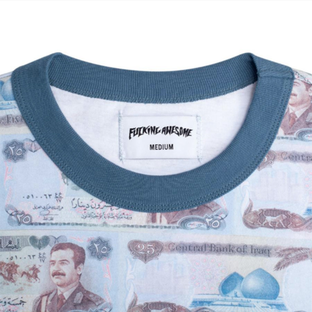 Fucking Awesome Saddam Money Ringer T-Shirt
