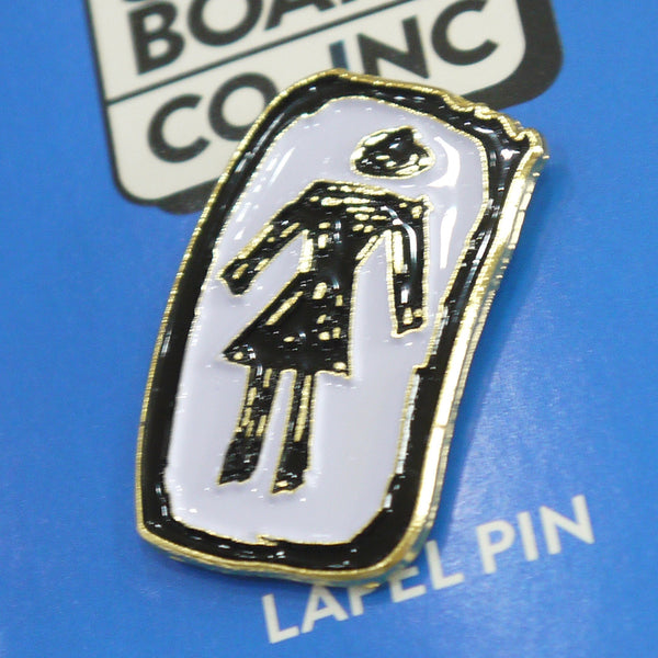 Girl Skateboards Sketchy OG enamel pin badge