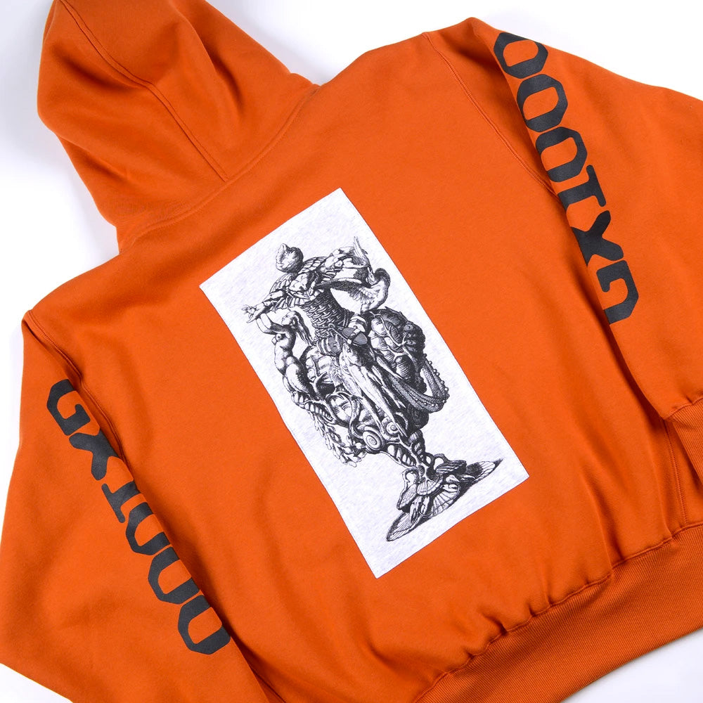 GX1000 Fish Hooded Sweat.