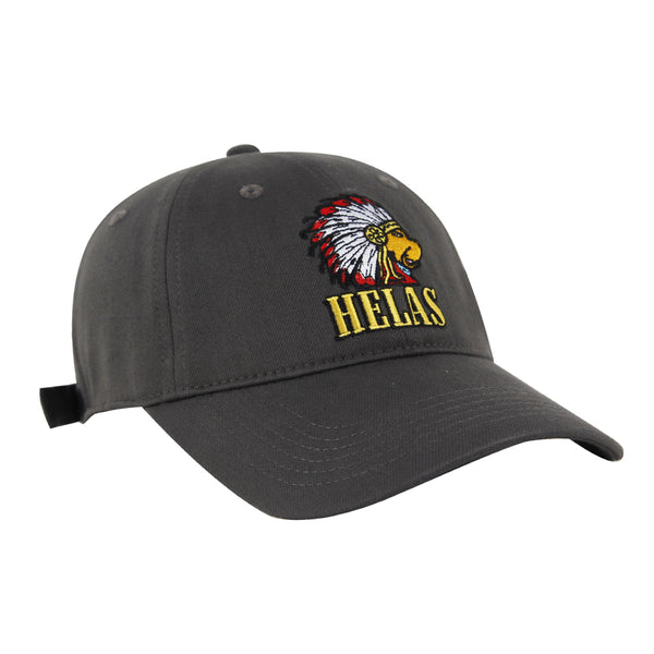 Helas Indiana Dog Cap Grey