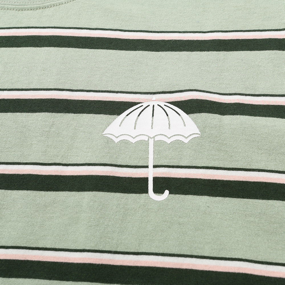 Helas Stripe Umbrella T shirt green
