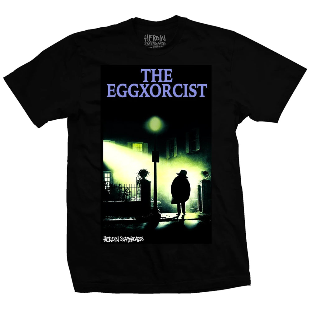 Heroin Skateboards Eggsxorcist T-Shirt