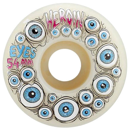 Heroin Skateboards Eyes Skateboard Wheels 54mm