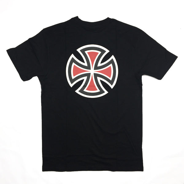 bar-cross-t-shirt-black