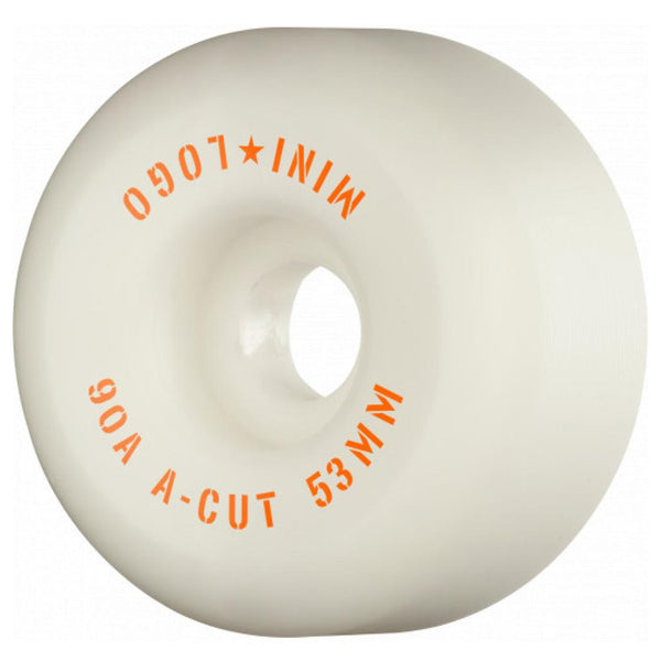 Mini Logo Hybrid A Cut 90a Wheels. 53mm.