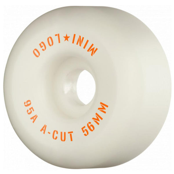 Mini Logo Hybrid A Cut 95a Wheels. 56mm.