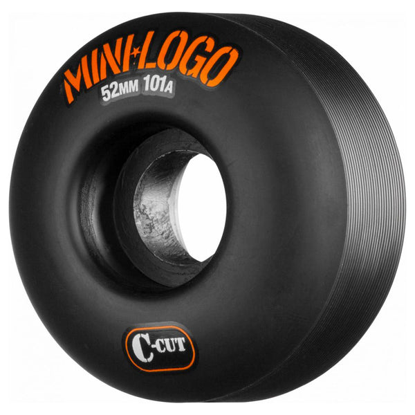 Mini Logo Wheels C Cut 52mm