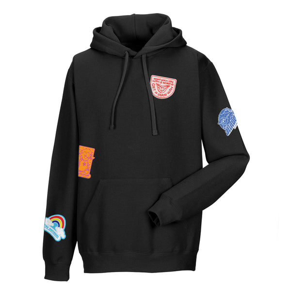 National Skateboard Co Slap It hooded sweat