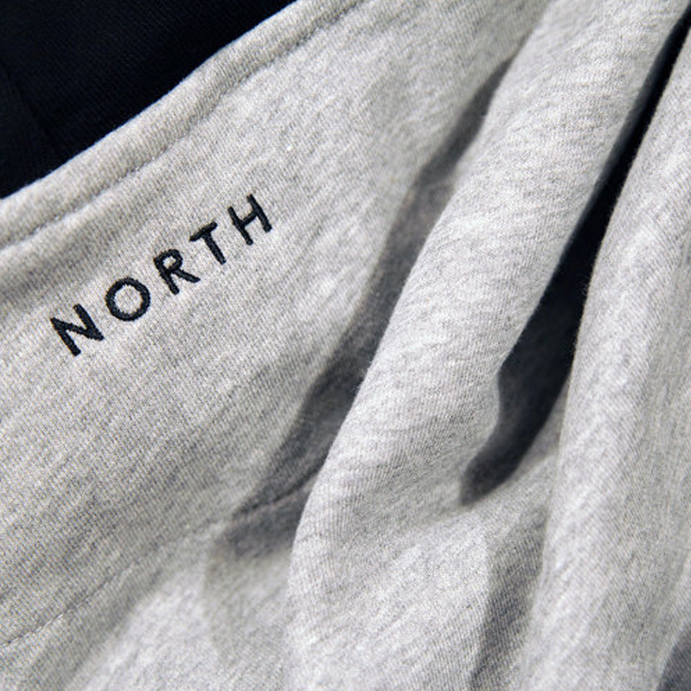 North Skateboard Magazine N Logo Two Tone Hood