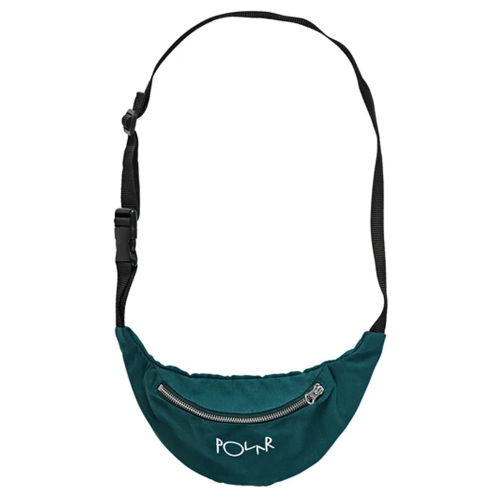 Polar Skate Co Script Logo Hip Bag Green