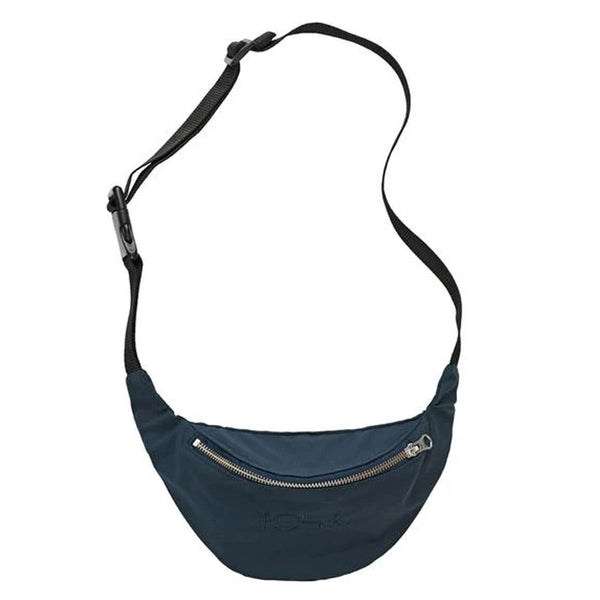 Polar Skate Co Waxed Cotton Hip Bag Navy