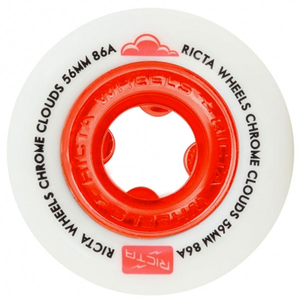 Ricta Chrome Clouds Cruiser Wheels 86A 56mm
