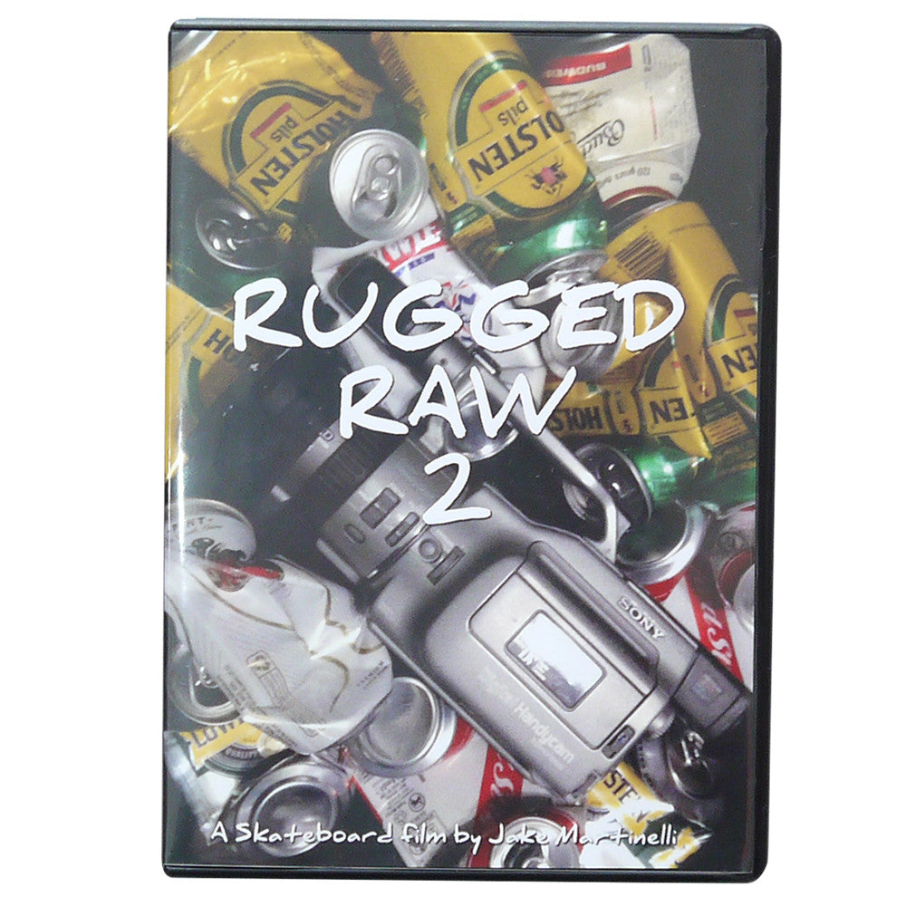 Rugged Raw 2 Skateboard DVD By Jake Martinelli.