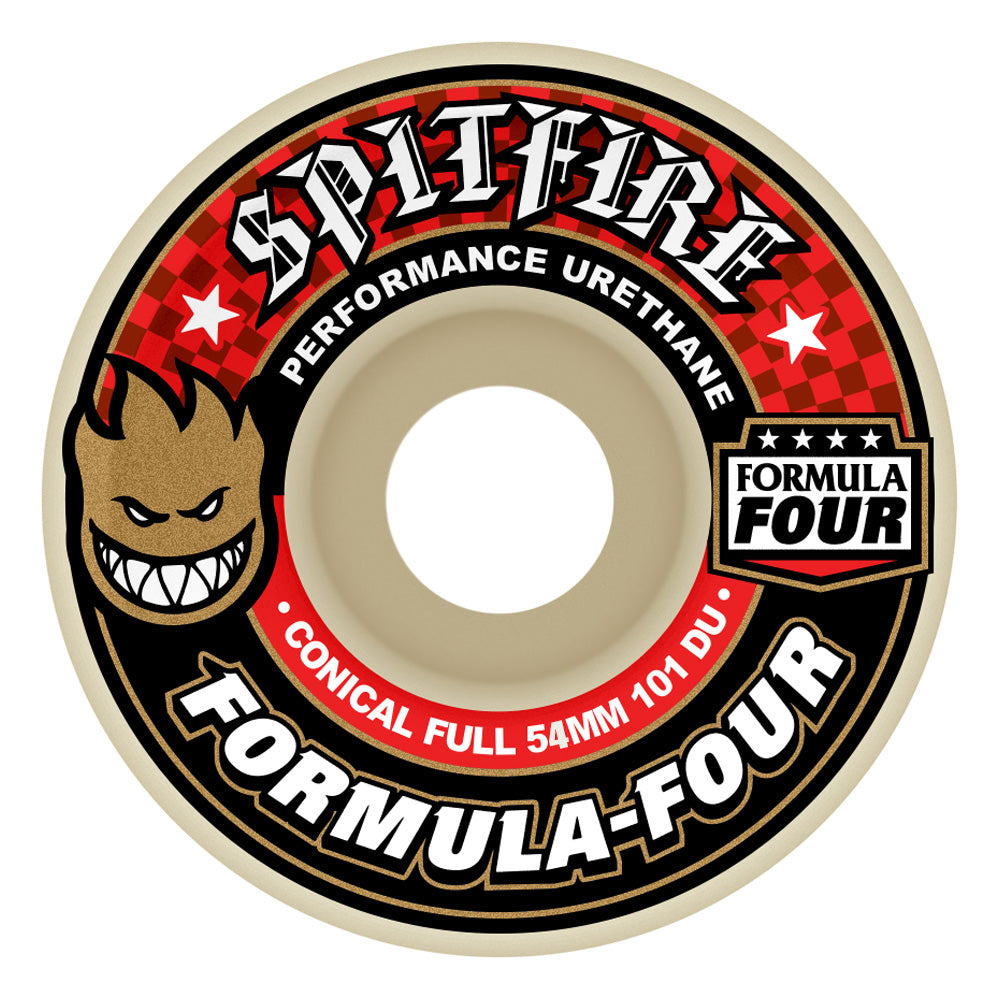 Spitfire Wheels Conical Full Formula Four Wheels 101a 54mm.