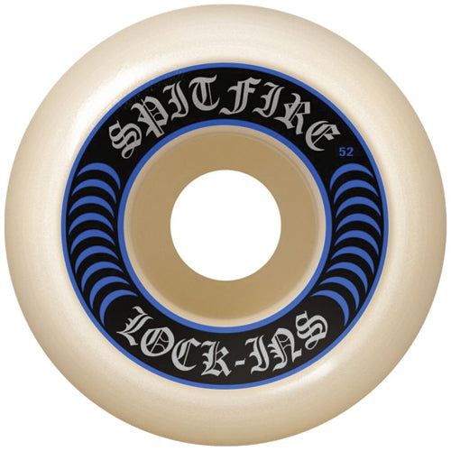 Spitfire Wheels Formula Four Lock-ins wheels 52mm 92a