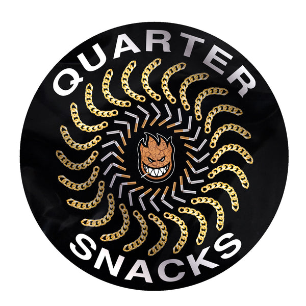 Spitfire Wheels Quarter Classic Sticker