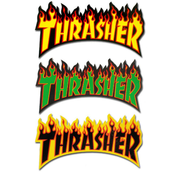 Thrasher Magazine Flame Logo Sticker