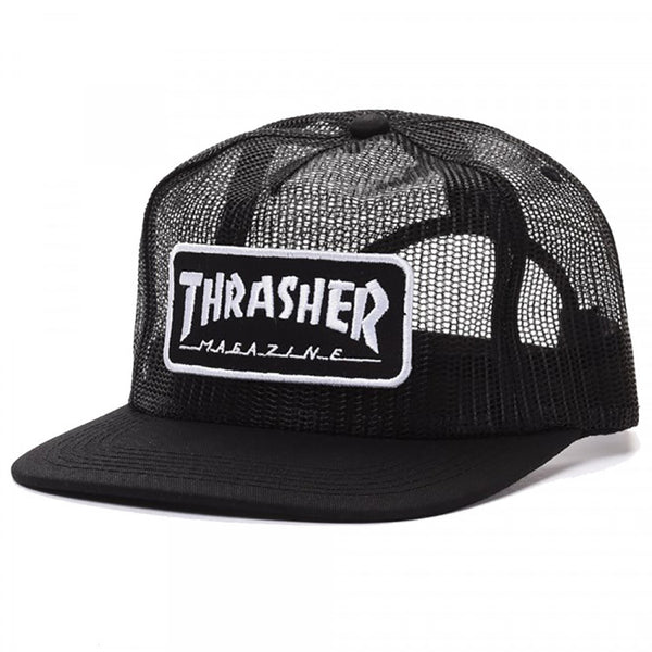 Patch Mesh Cap Black