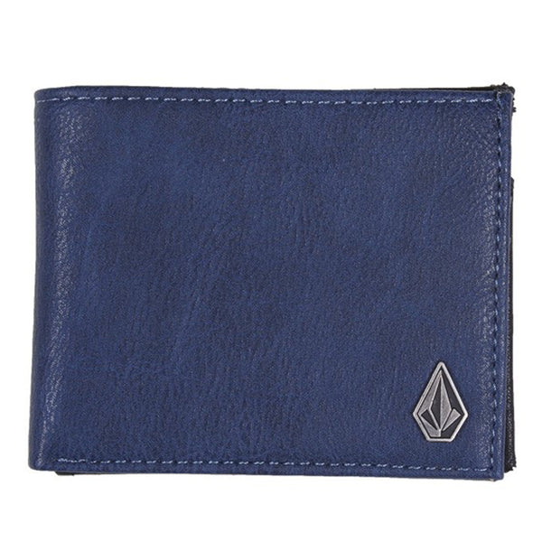 Volcom Clothing Slimstone Wallet Indigo