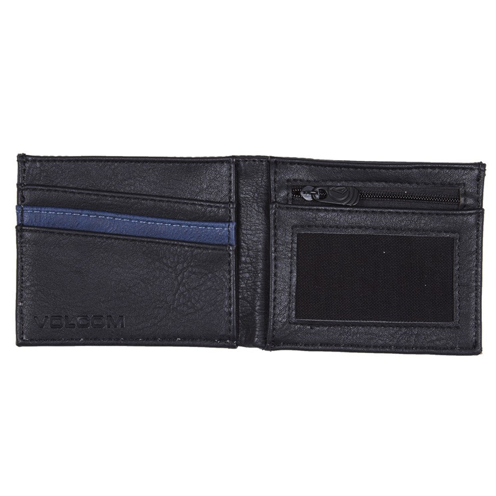 Volcom Clothing Slimstone Wallet Indigo inside