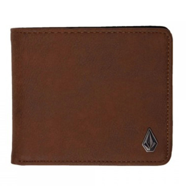 Volcom Clothing Slimstone Wallet Brown