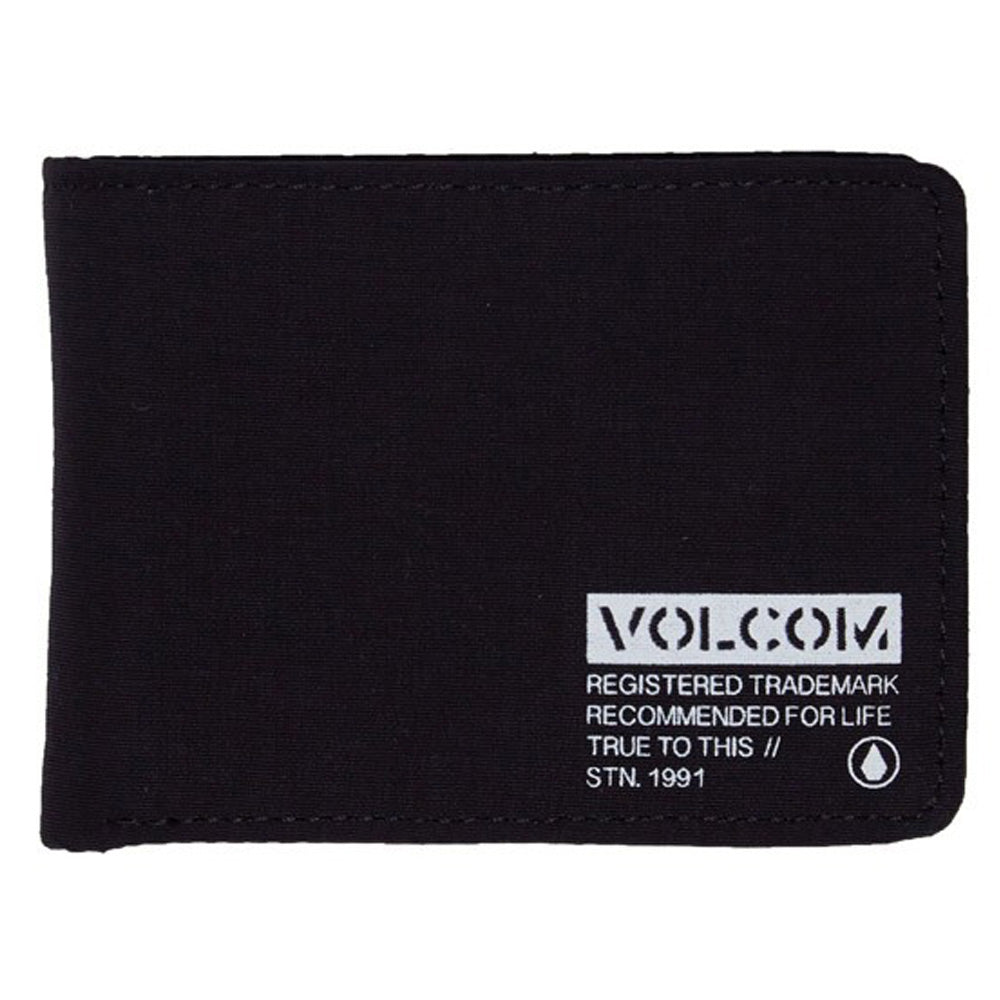 Volcom Clothing Sparks Wallet Black