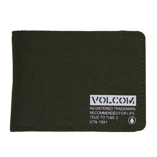 Volcom Clothing Spark Wallet Miltary
