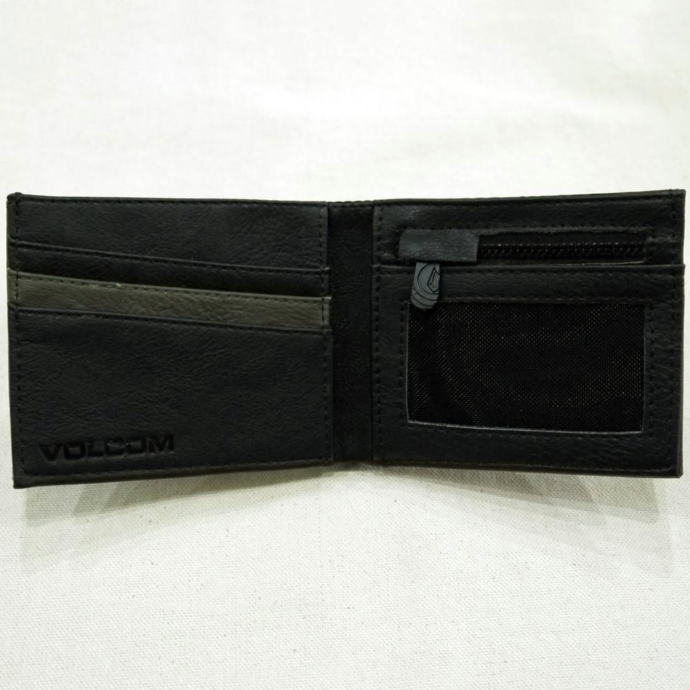 Volcom Clothing Slimstone Wallet Military Interior
