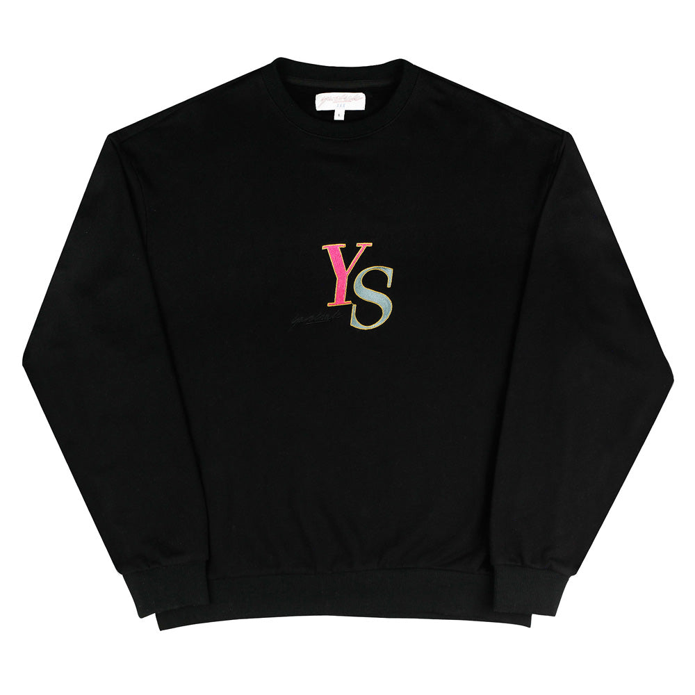 YS Jack Crewneck Sweat Black