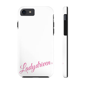 Ladydriven Black/Pink Case Mate Tough Phone Cases