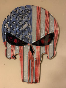 Punisher USA Skull