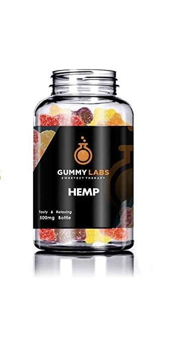 Gummy Labs - Hemp Gummies (400 mg Cherry Rings) - 20 mg per Gummy for Pain and Anxiety by Gummy Labs Be the first to review this item
