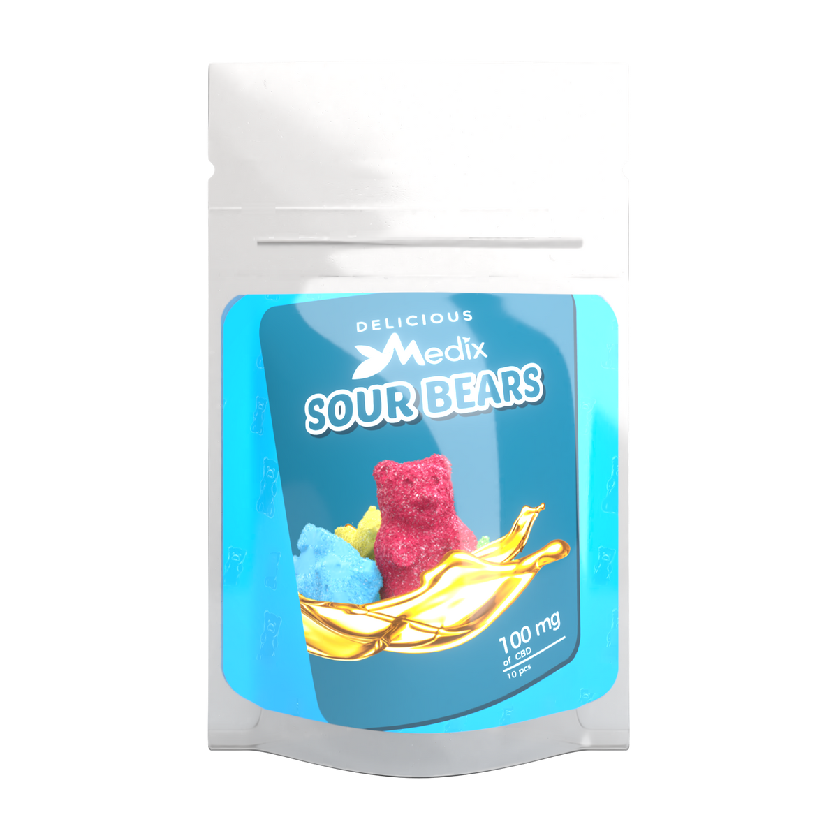Medix CBD Gummies – CBD Infused Sour Gummy Bears