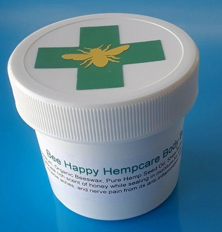UNSCENTED 1200mg CBD BODY BUTTER HEMP CANNABIS OIL SHEA TOPICAL PAIN CREAM 6oz