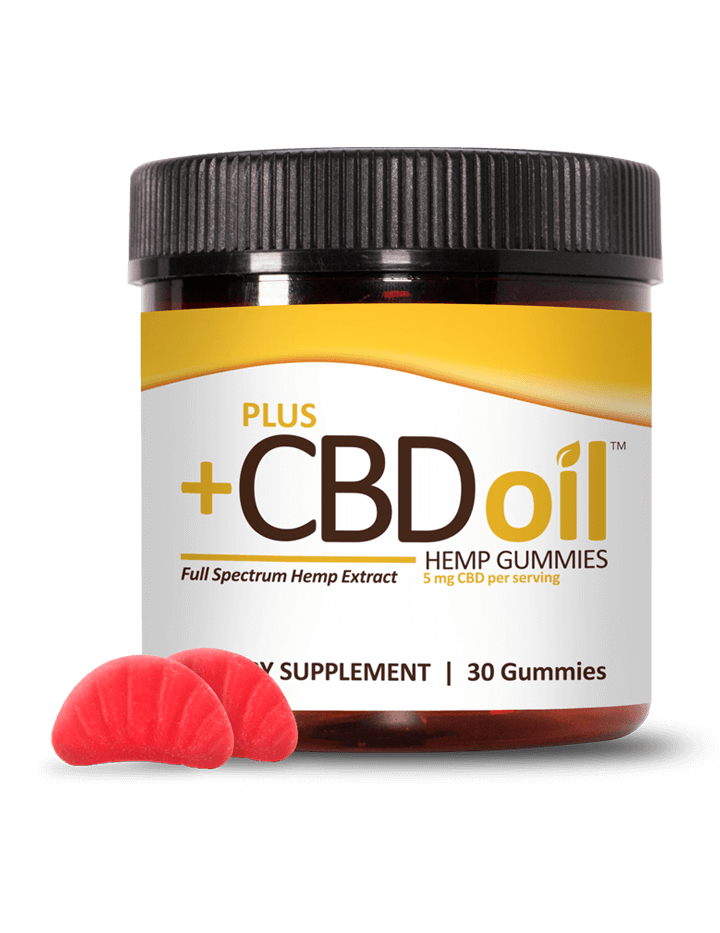 Hemp Gummies - CBD/Hemp Infused Gummy Bears 30 count Pain Relief