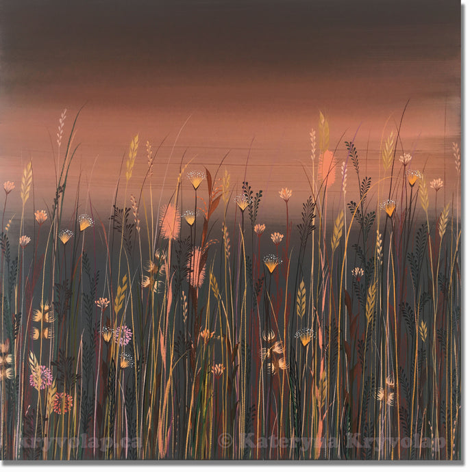 BRONZE DAWN -  20 in x 20 in (50.8 cm x 50.8 cm)