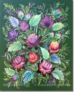 LUXURIOUS FLAVOUR -  16 in x 20 in (40.6 cm x 50.8 cm)