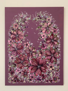 FLOWER BASKET - 18 in x 24 in (45.7 cm x 61cm)