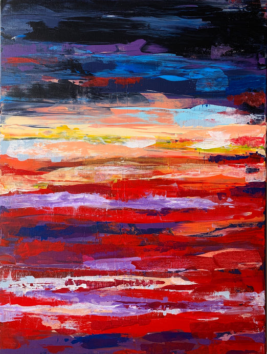SUNRISE TWO - 18 in x 24 in (45.7 cm x 61 cm)