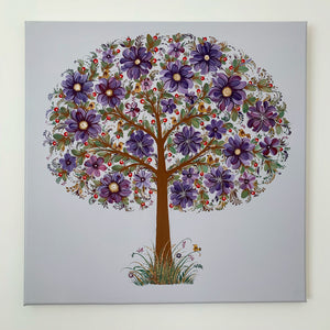 LILAC DREAMS - 20 in x 20 in (50.8 cm x 50.8 cm)