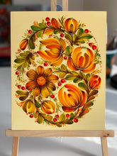 FALL CROWN - 8 in x 10 in (20.3 cm x 25.4 cm)